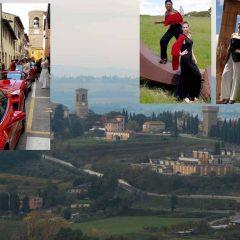 A Torgiano sculture, Ferrari e tanti eventi