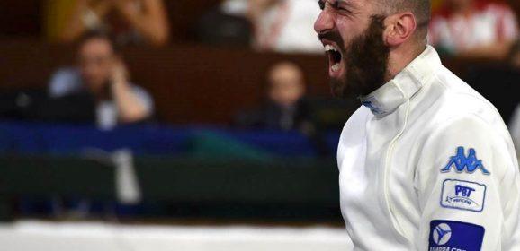 Europei scherma, gioia anche per Santarelli