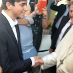 Da Vinci in Umbria: «Papa, senti la storia»