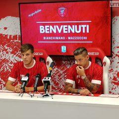 Presentati Mazzocchi e Bianchimano: «Felici»