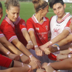 Perugia, un tocco rosa: la squadra femminile