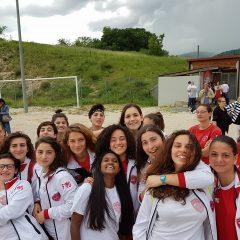 Calcio, ecco le ragazze col Grifo sul cuore