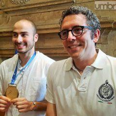 Veterani sport Terni, premio per Foconi