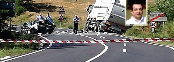 Ponte Rio, schianto fatale: muore operaio