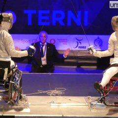 Scherma, mondiale paralimpico: Terni 2023