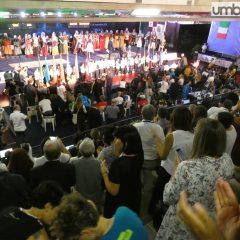 Europei paralimpici scherma, l'opening