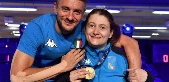 Scherma paralimpica, ancora festa a Terni