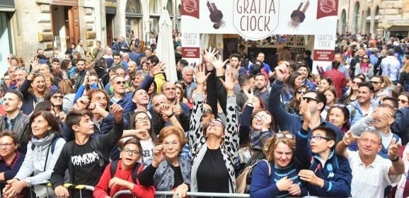 Eurochocolate 2018, weekend da record