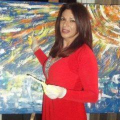 Todi, 'La magia del colore': c'è Rubinia