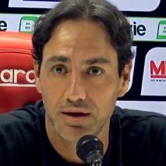 Perugia-Crotone 2-1 Nesta in conferenza