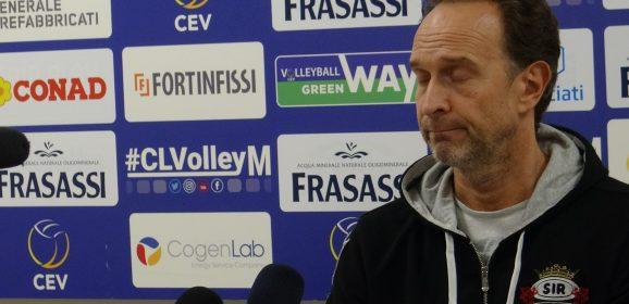 Volley, Bernardi: «Sir, ora non fermiamoci»