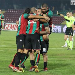 Ternana-Gubbio 3-0, rossoverdi on fire