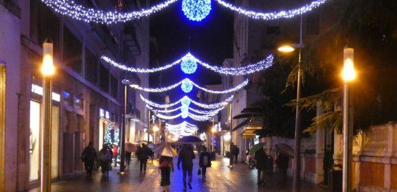 Natale a Terni, novità parcheggi e luminarie