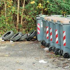 Terni, via Campania: degrado costante