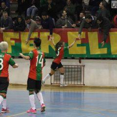 Futsal, Tampa show in Ternana-Napoli 10-2
