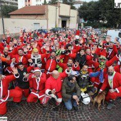 Babbo Natale in moto per solidarietà a Terni