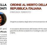 Premio al Quirinale per dirigente Rosella Tonti