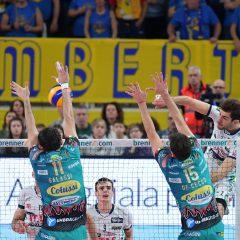 Perugia cade a Trento e perde la vetta