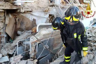 Esplosione a Spoleto, notevoli i danni