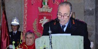 Terni, la polizia locale e il suo San Sebastiano