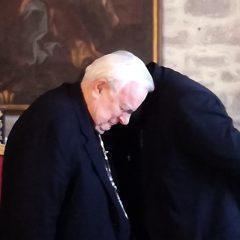 Il saluto a Perugia di monsignor Giulietti