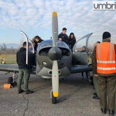 Terni, gli studenti in volo con l'Aeronautica