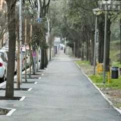 Via Lungonera Savoia, debutto post restyling