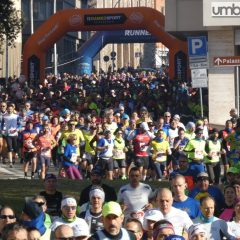 Invasione di podisti, festa Maratona a Terni