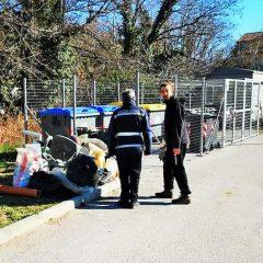 Terni, borgo Bovio: ripulitura e multe