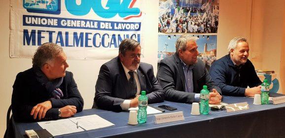Ugl, segretario Capone visita Treofan e Ast