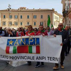 Il 25 aprile a Terni, le immagini della festa