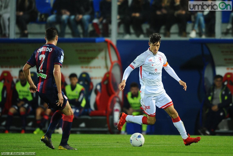 Crotone-Perugia 2-0 Molli e distratti dietro