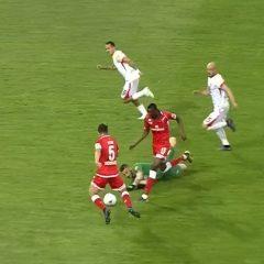 Perugia-Benevento 2-4 Quanti errori, Grifo