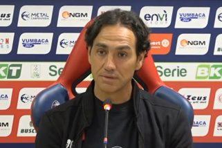 Frosinone-Perugia 1-0 Nesta non replica