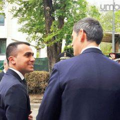 Di Maio 'scopre' le criticità dell'Umbria