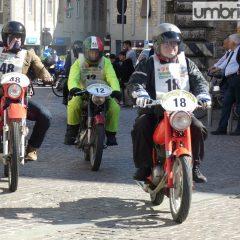Terni, Motogiro d'Italia Il passaggio in foto