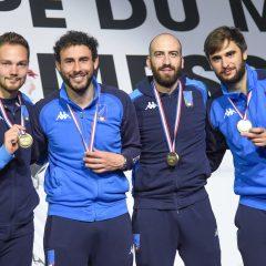 Scherma, Santarelli bronzo a Parigi