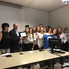Terni, Business school: 'Travel Up' vincente