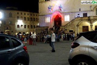 Perugia 1416, il bando in mezzo alle auto
