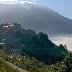 Castelluccio, riattivata la webcam sul borgo