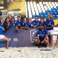 Terni, beach rugby: due argenti europei