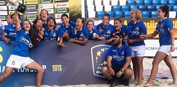 Terni, beach rugby: due argenti europei