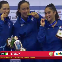 Terni, Lucarini bissa: oro all'Universiade