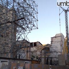 Norcia, si riparte: riprendono i lavori anche nella Basilica