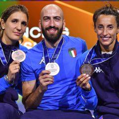 Scherma, Santarelli bronzo mondiale