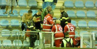 Ternana, tifoso cade: soccorso dal 118