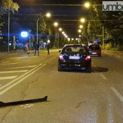 Terni, scontro fra due auto in viale Trento