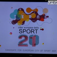 Città europea sport 2021: «Scelta Terni»