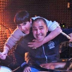 Terni, da autodidatta a batterista di Arisa