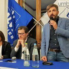 Regionali, Giorgetti a Terni: «Le 'fatiche' della Lega saranno ripagate»